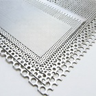 YESON perforated punching round hole mesh circle balcony perforated metal mesh