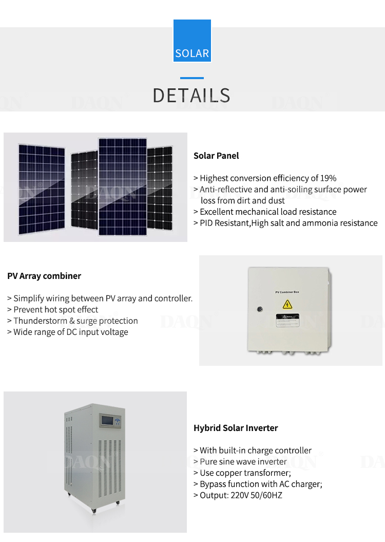 Factory Direct Supply 110V 220V 4kw Pure Sine Wave Off Grid Solar Power Inverter