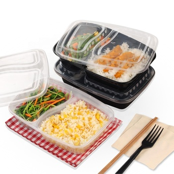 Biodegradable Plastic Disposable Compartment Food Packaging Containers Buy Disposable Compartment Food Packaging Containers Disposable Food Packaging Containers Biodegradable Plastic Containers Product On Alibaba Com