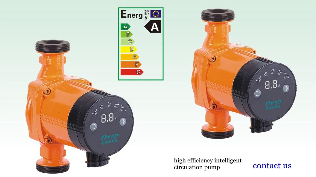 Silencioso bomba de circulação de água quente de aquecimento fornecedor