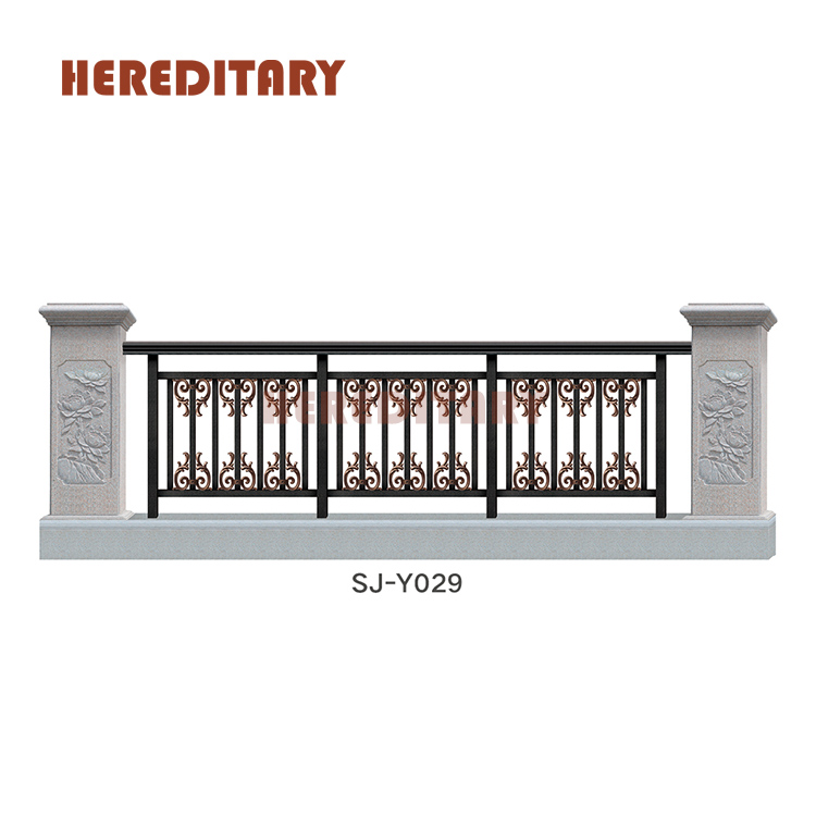 Modern Balustrade Roof Deck Aluminum Railing Grill Design For Balcony View Modern Design For Balcony Railing Hereditary Product Details From Foshan Hereditary Hardware Products Co Ltd On Alibaba Com