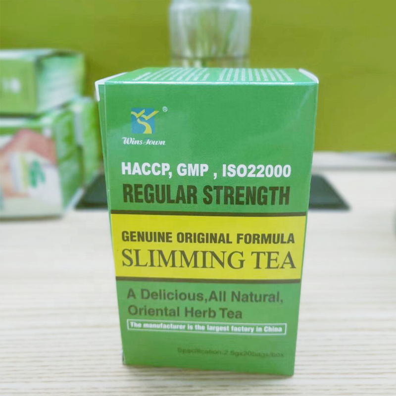 Wansongtang detox chá private label slimming fit queimador de gordura herbal tea saudável