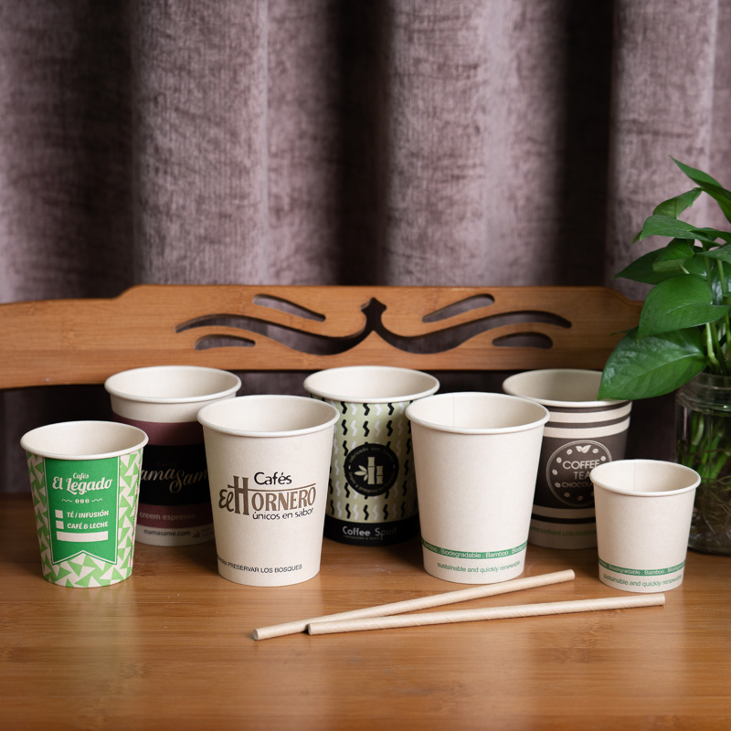 wholesale offset printing cheap disposable paper coffee cups manufacturer with logo