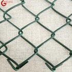 black chain link fence 6ft