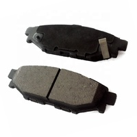 Japanese car accessories auto brake pads disc brake pads for Subaru Forester Impreza Legacy XV