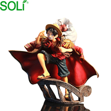 Neueste Janpan Anime One Piece abbildung Mini PVC Luffy Action-figuren