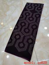 MIQIER 2020 Высококачественная африканская нигерийская Кружевная Ткань бархатная кружевная ткань с блестками вышитый шнур кружевная ткань гип...(Китай)