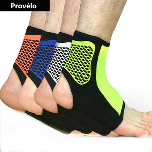 Sports Ankle Weights Support Ankle Pads Elastic Brace Guard Foot Ankles Protector Wrap For Bicycle Football Basketball Wholesale