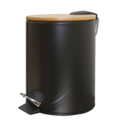 stainless steel dustbin waste trash indoor recycle bin Airport metal oval 1 compartment Standing Bin