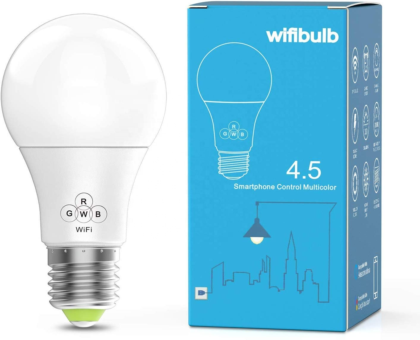 Smart Life  Led Wifi Smart Bulbs Music App Speaker Color Changing Dimmable