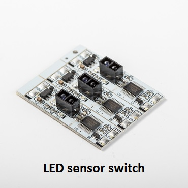 USB Rechargeable Closet Lights Motion Sensor 10 LED Portable Wireless Light Bar Cabinet Kitchen closet Night Light with Magnet