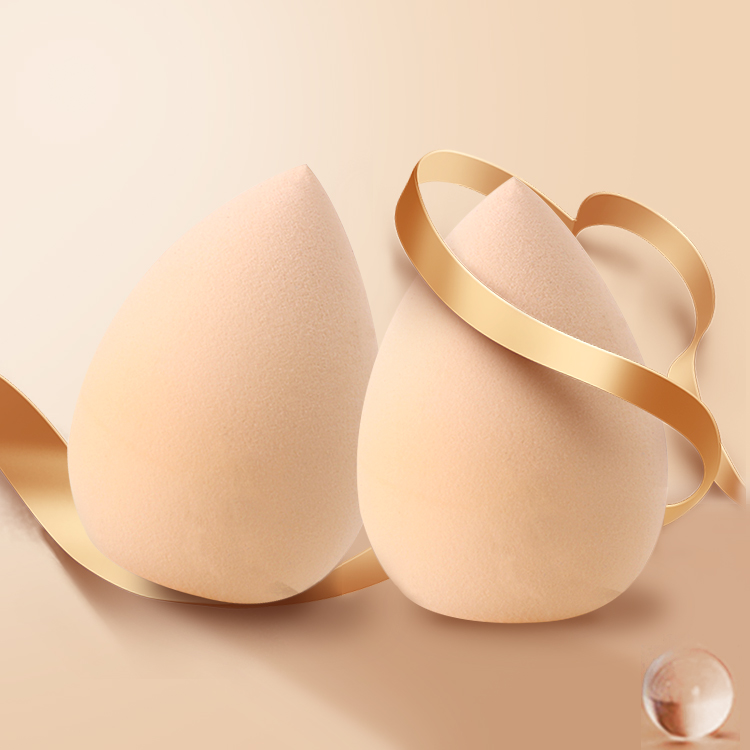 Facial Makeup Sponge Blender Foundation Cosmetic Puff 4 Pcs Pack
