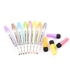 G-208 Easily Erasable magnetic WhiteBoard Marker Pen With Eraser