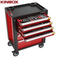Ningbo Kinbox 138 PCS BMC 1/3 Tray Mechanic Tools Automotive For Tool Storage