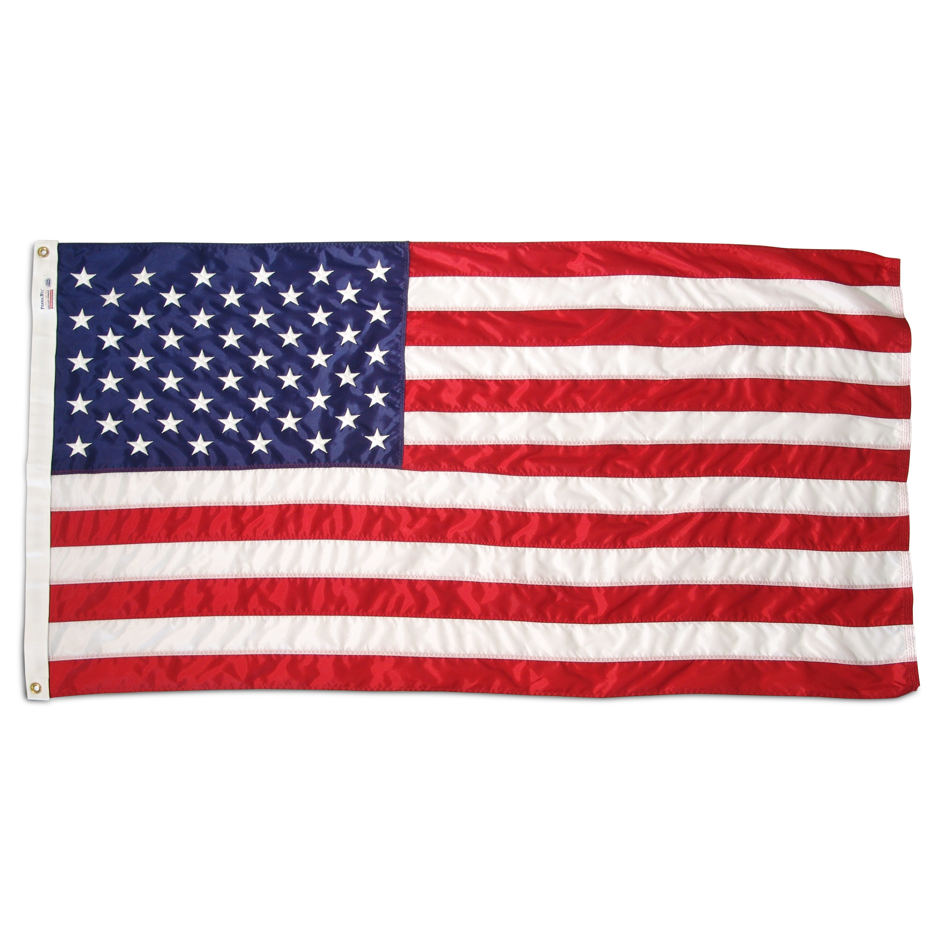 USA double printing ad flags banners event and hanging custom printed flag