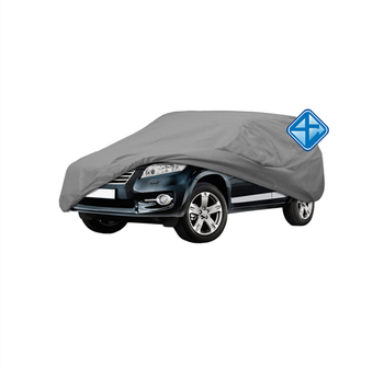 Polyester Outdoor Universal Anti-dust Waterproof Sunproof SUV Car Cover