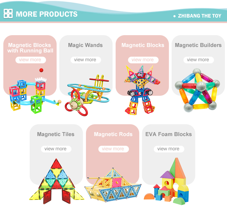 Wholesale Educational Toys Distributors New Style Magnetic Building Blocks For Children