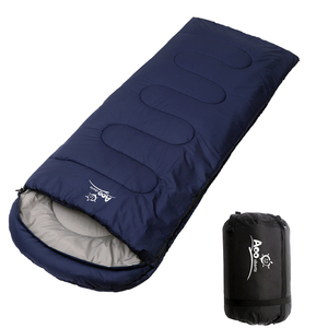 Wholesale lightweight outdoor camping sleeping bag for 4 seasons travel hiking