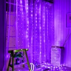 Christmas Fairy Garlands Christmas Party Wedding Home Decoration Christmas Fairy Led Icicle Garlands Waterproof 300 LED Curtain Fairy String Light