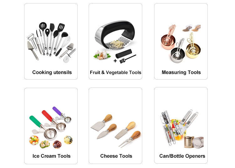 Cathylin सस्ते homeware खाना पकाने के उपकरण छोटे लकड़ी के रसोई के बर्तन