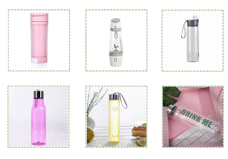 Thép không Gỉ Nắp 500ml BPA FREE Khuyến Mại Tritan Chai Nước Bằng Nhựa Với Logo Tùy Chỉnh
