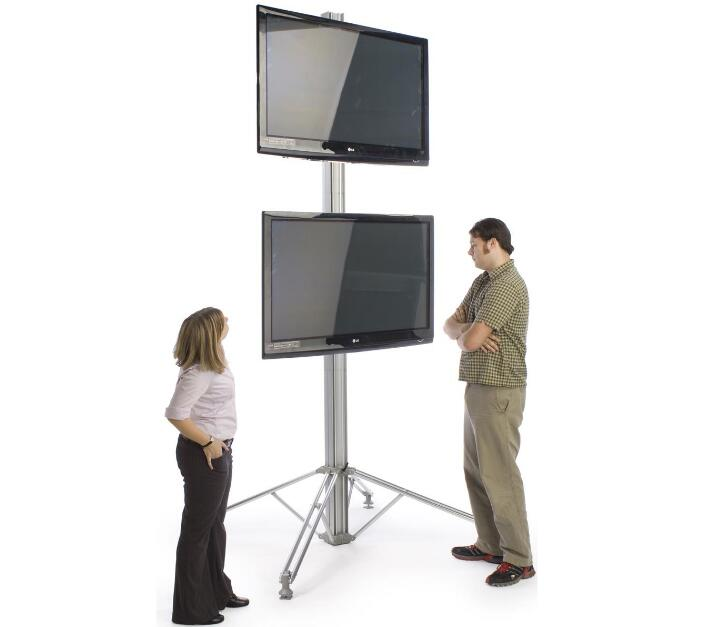 TV Stand Tall Com 2 Montagens Monitor LCD Rack de TV Stand Stand TV LED