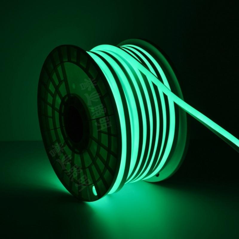 8*16mm outdoor lighting waterproof high pressure flexible light strip 220V 2835led single-sided luminous neon light strip