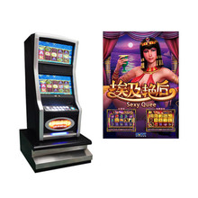 Lcd Monitor Video Pog Wms Gokken Royal Baccarat Spel Operated <span class=keywords><strong>Sexy</strong></span> Queens Coin Slot Machine Casino