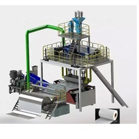 PP Meltblown Nonwoven Fabric Production Machine Line