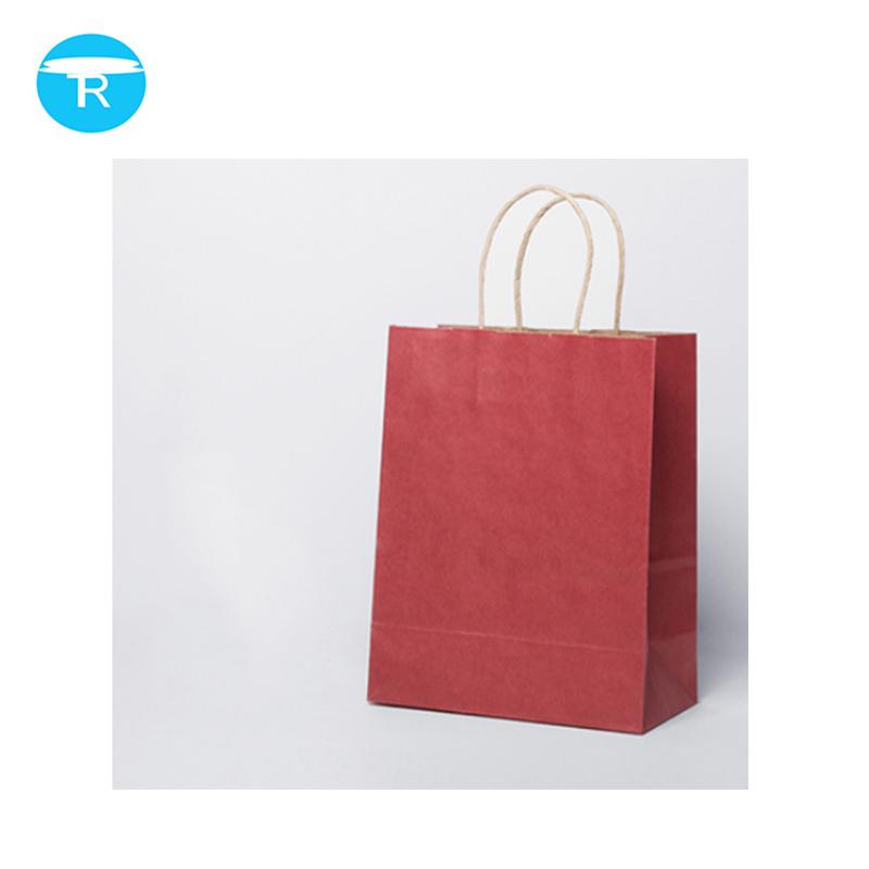 China Hersteller Weiß Luxus Gedruckt Geschenk Kunden Einkaufen Papiertüte Mit Ihrem Eigenen Logo
