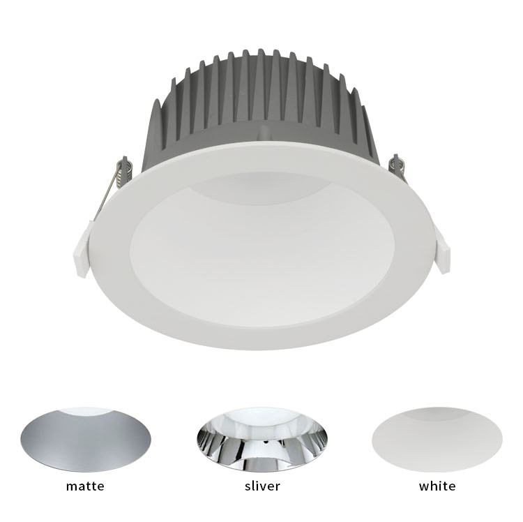CE SAA commercial lighting fixture dali dimmable ip44 ceiling recessed retrofit smd  led downlight