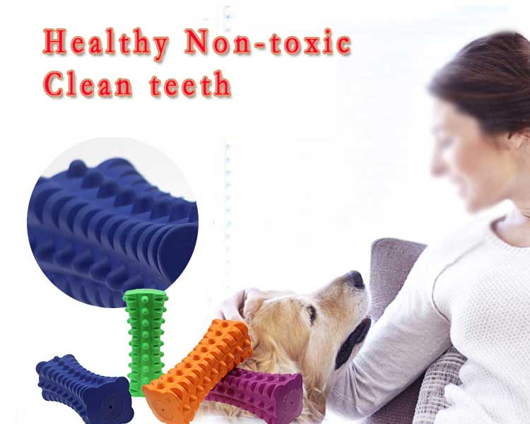 Custom Pet Dog Chew Toys Rubber Squeaky Dog Toys