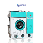 Full automatic hydrocarbon dry cleaning machine and laundry machine dry cleaner