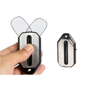 Clip Nose Reading Glasses Mini Folding Reading Glasses  With Key Chain Case Reading Glass