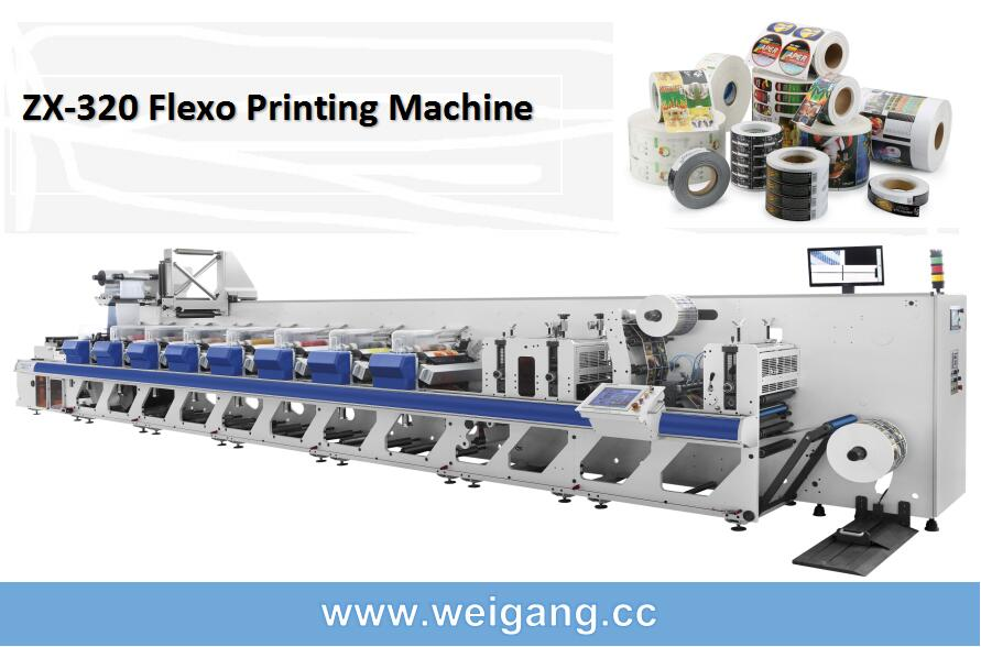 ZJR Unit Type flexo printing machine
