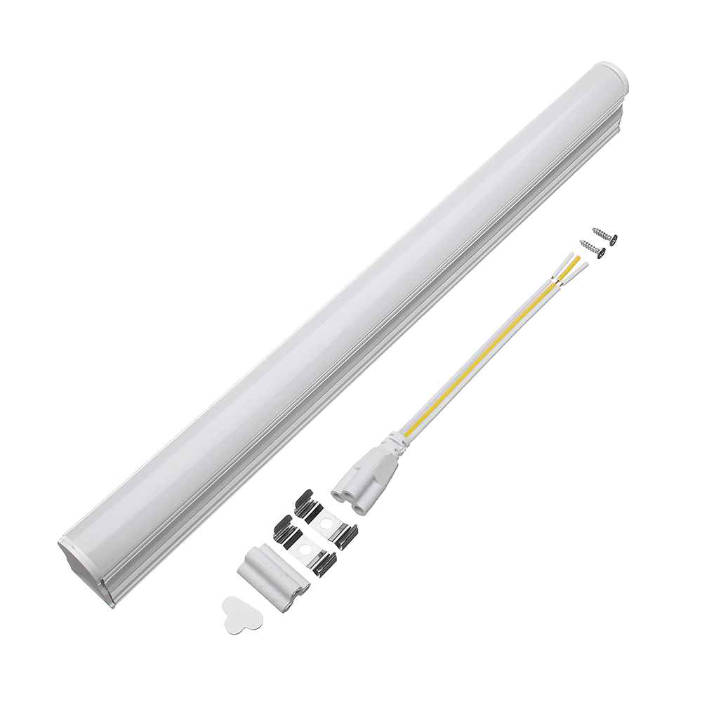 T5 <strong>LED</strong> Tube 9W 600mm <strong>LED</strong> Transparent Cover Tube <strong>Fluorescent</strong> Light <strong>Lamp</strong> AC220V