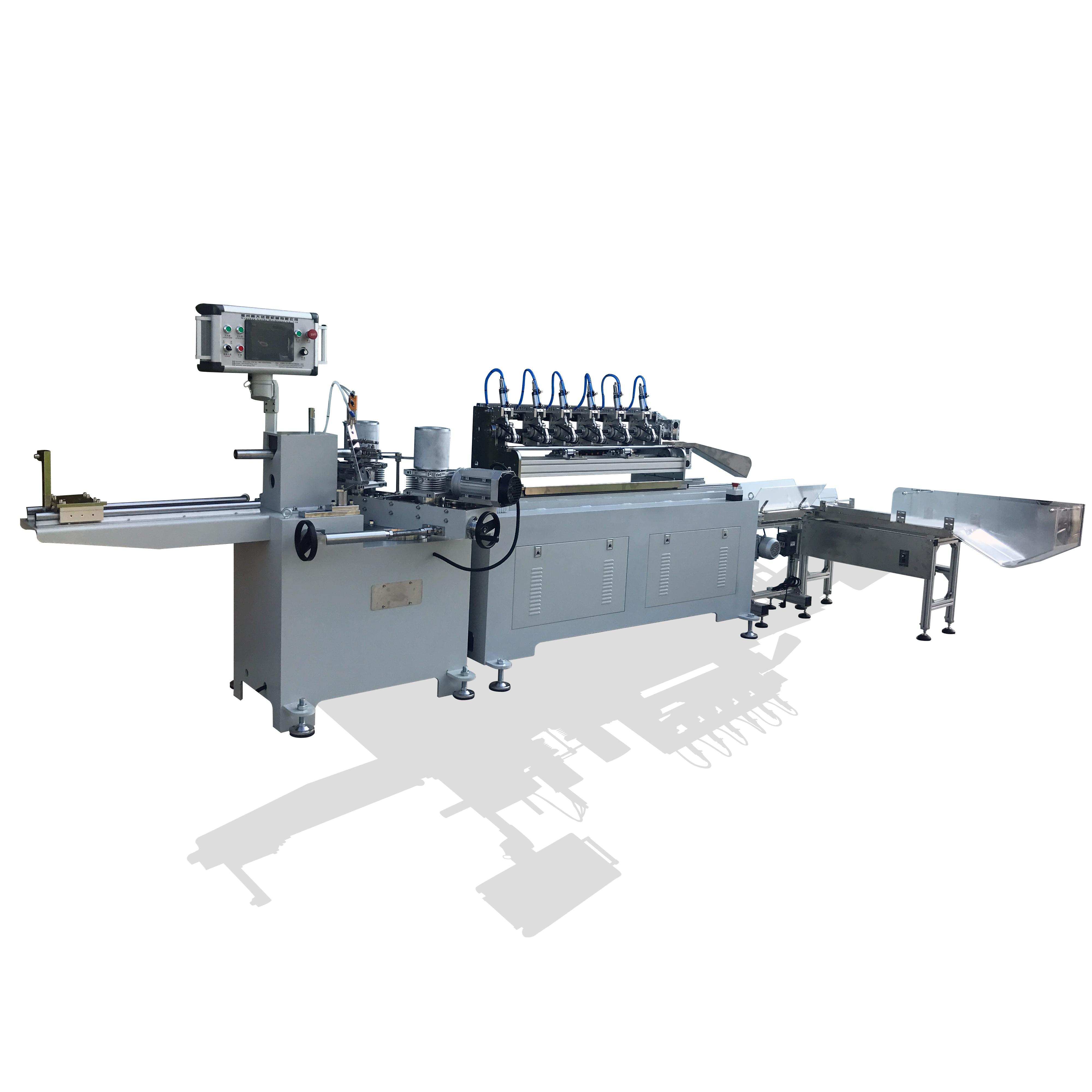 Paper straws machine making