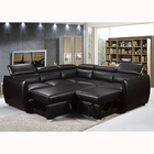 Modern furniture L shape living room sofa set Luxury home furniture sofa Fashion modern leather sofa