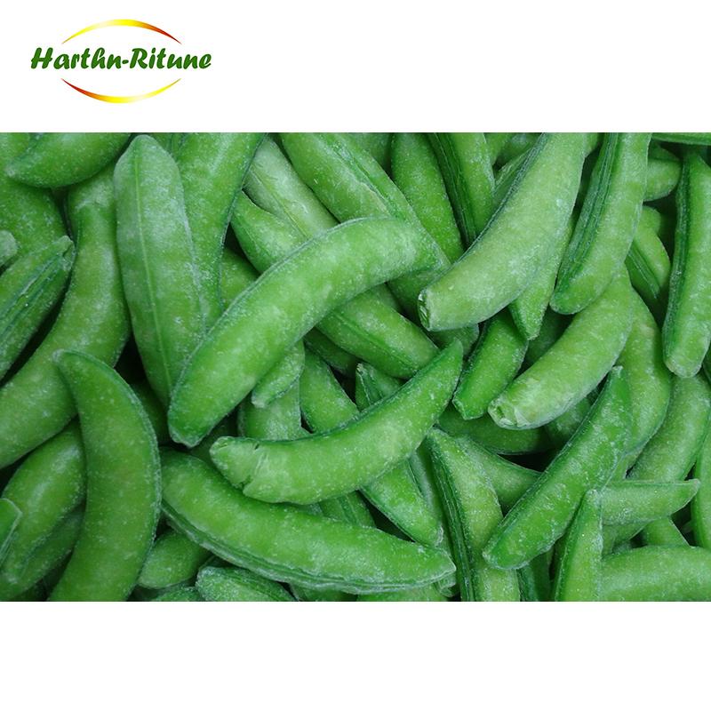 Wholesale New Crop IQF Frozen Sugar Snap Pea with Delicious Taste