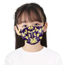 Детские хлопковые дышащие удобные Чехлы для лица с цифровым принтом maake Masque Mascarillas Infantile, аксессуары для костюмированной вечеринки(Китай)