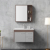japanese luxury mirror bathroom cabinet furniture solid wood