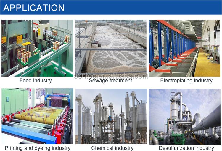 SPX504 a prueba de explosión de inserción Digital en línea diapasón de lodo Medidor de densidad
