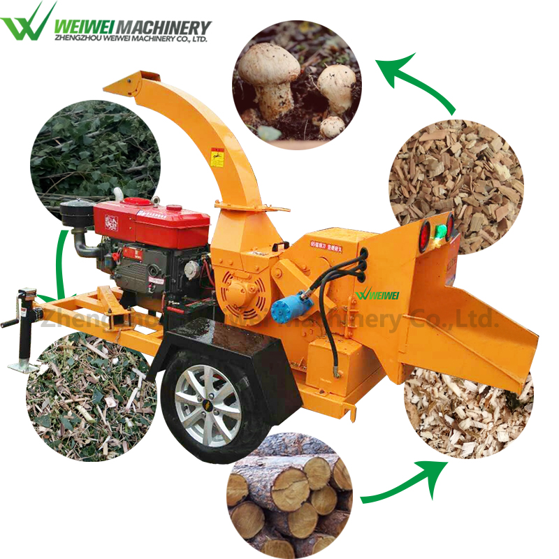 Weiwei shredder wood wood pellet mill from branches