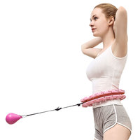 new product GYM hula hoop wholesale Fitness exercise hula hoop ring