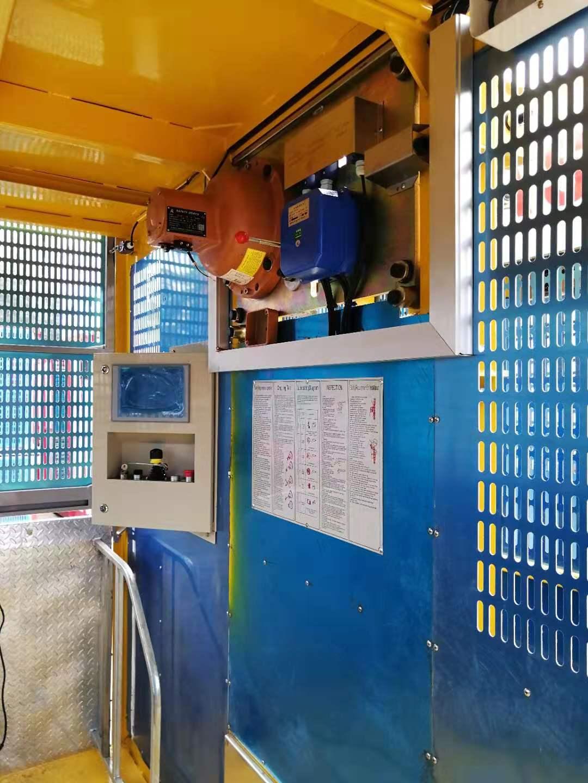 building man Lift materials platform construction hoist for passengers