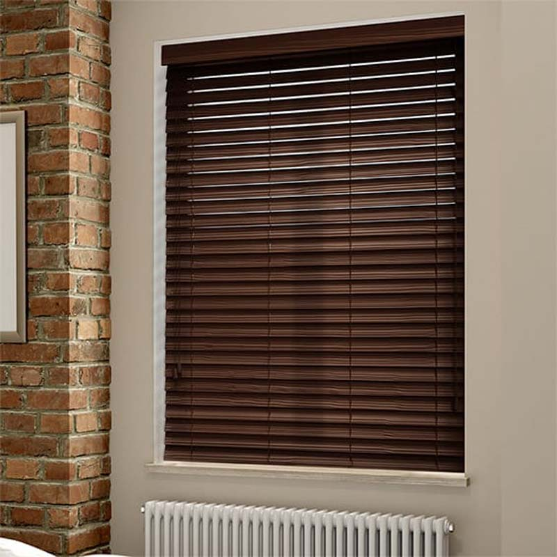 China Supplier Bamboo Wooden Roller Shades Automatic Roller Blinds