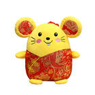Red New Year Mouse wearing a Tang suit custom plush doll plush toy handmade stuffed plush toy