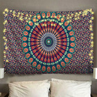 Hippie Mandala Mandala Tapestry 2020 New Design Custom Fabric Polyester India Hippie Decoration Indian Wall Hanging Mandala Tapestry For Living Room