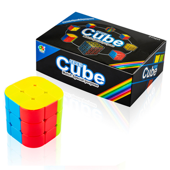6 pcs math smart games wounder corner stickerless magic cube for return gifts items
