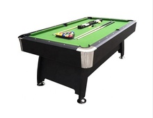 7FT zwart <span class=keywords><strong>snooker</strong></span> biljart groen vilt ball return pooltafel
